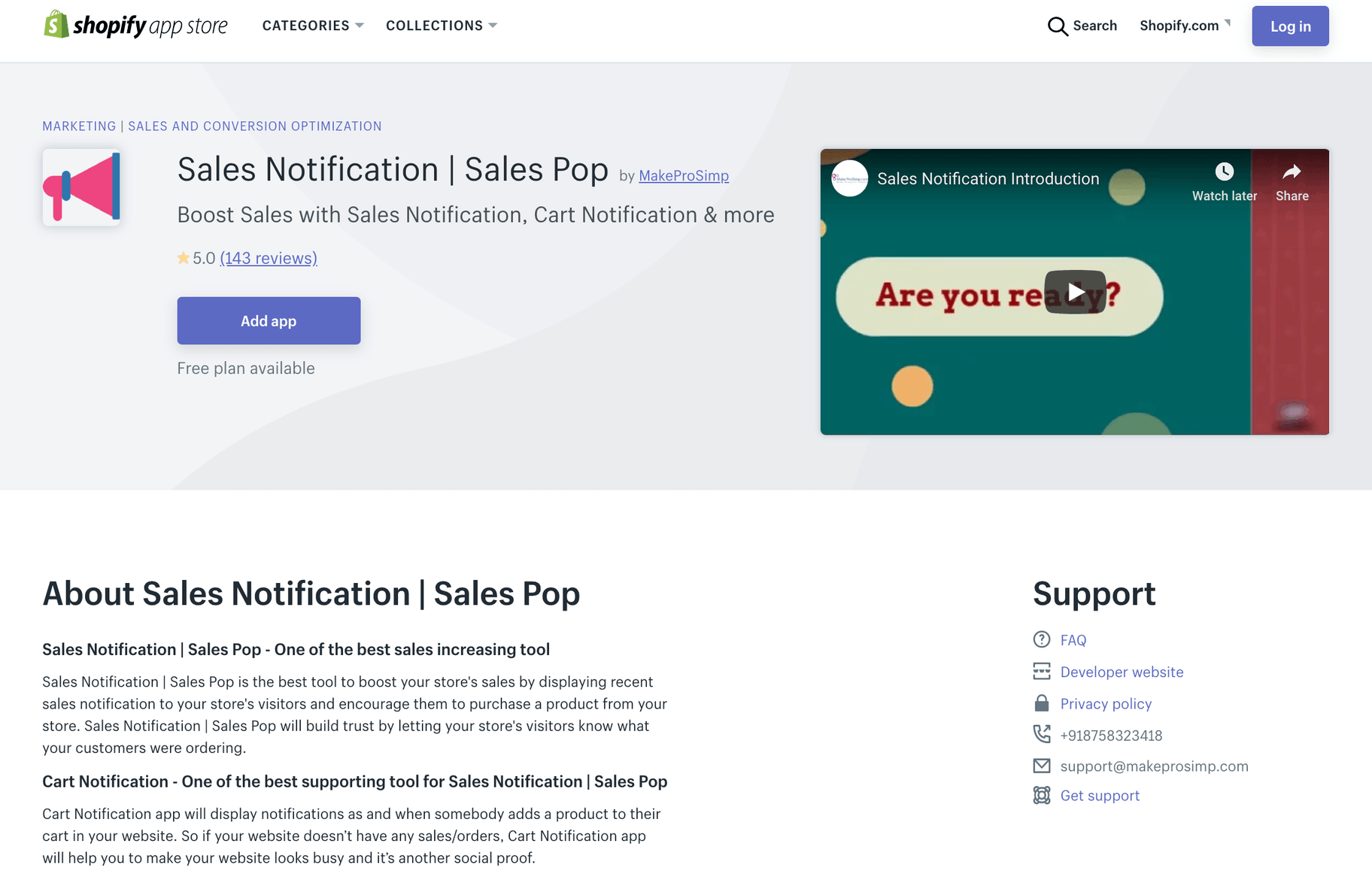 Sales Notification App by MakeProSimpl