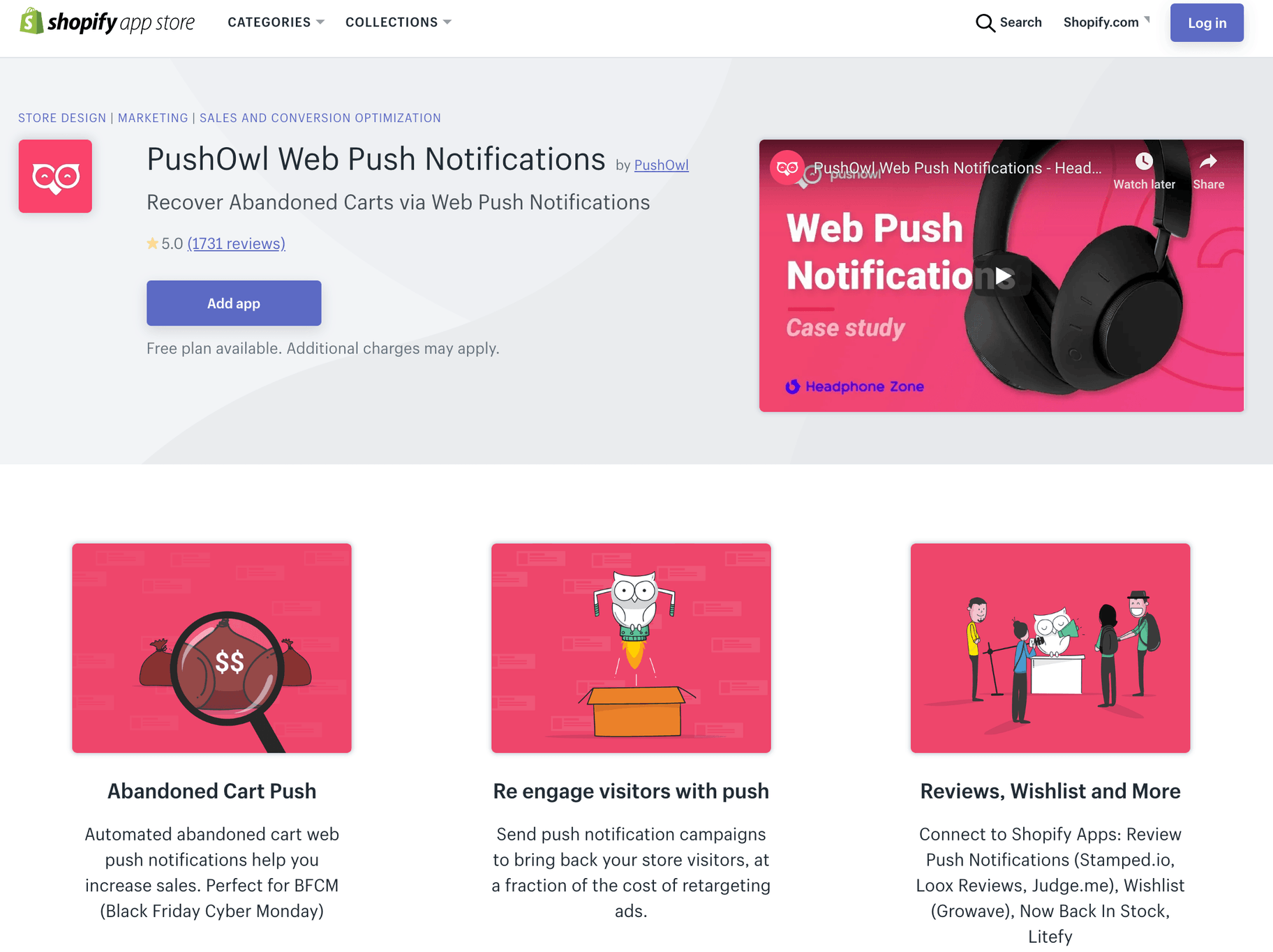 Web Push Notifications by PushOwl