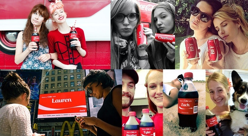 Coke UGC Social Proof Campaign