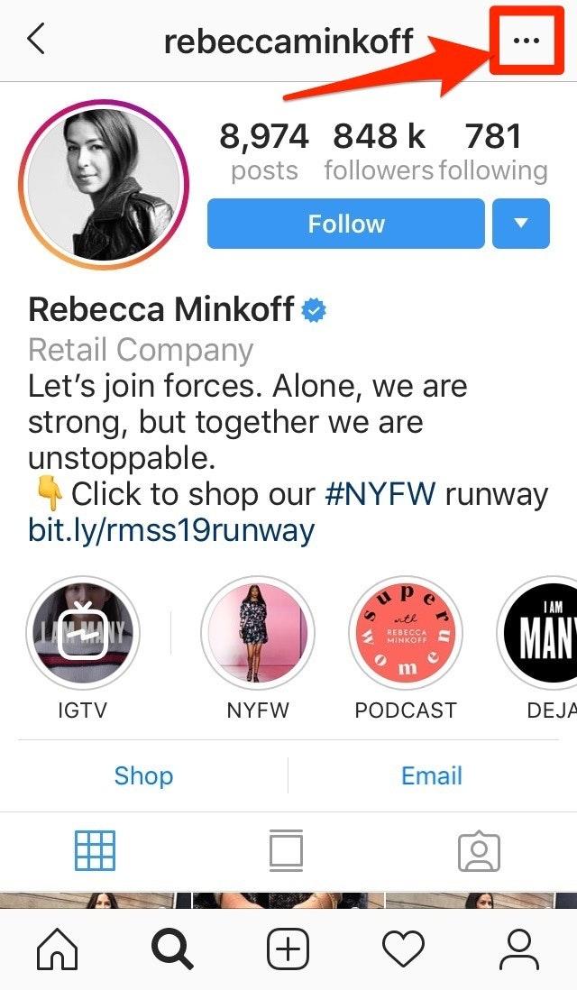 Rebecca Minkoff Instagram Ads