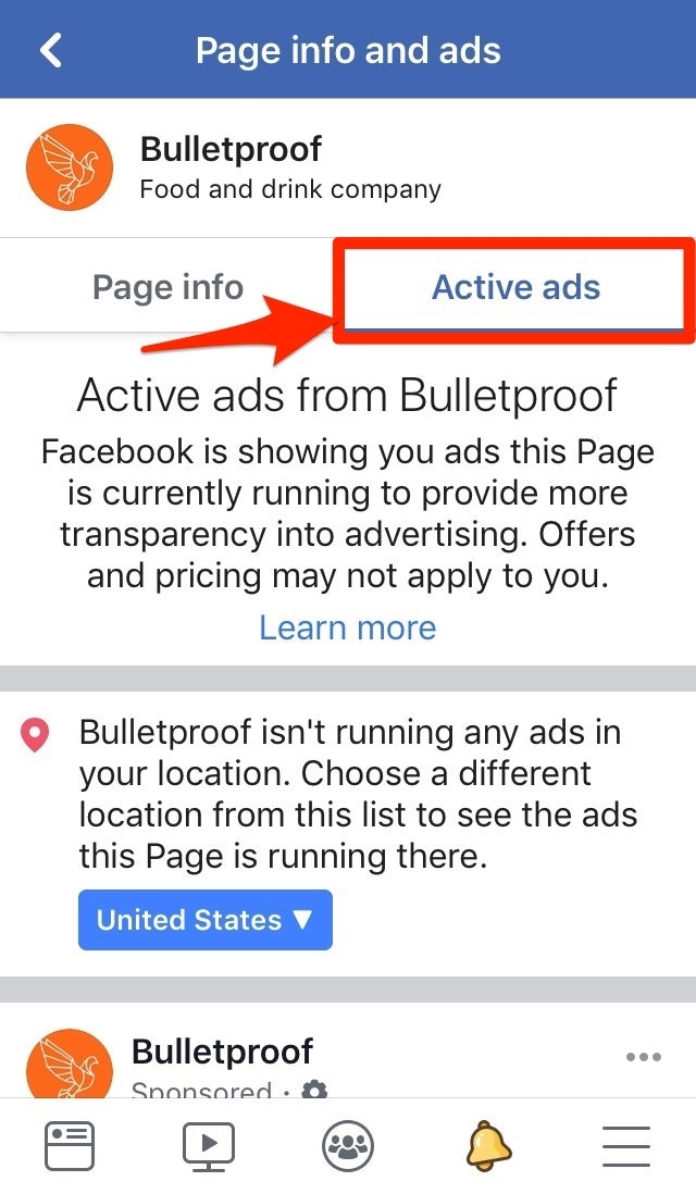 Bulletproof Facebook Info and Ads