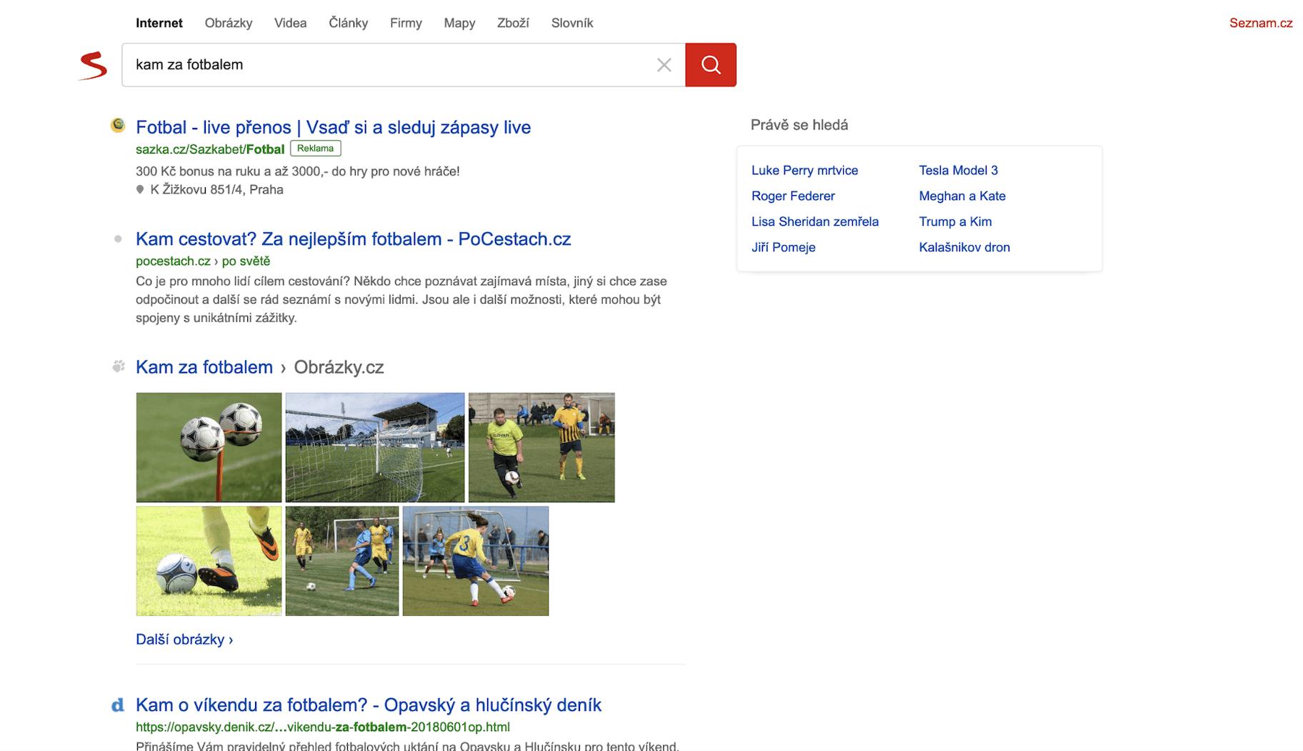 Seznam Search Engine