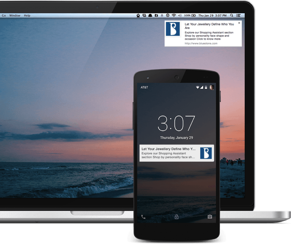 Push Notifications on Mobile and Desktop