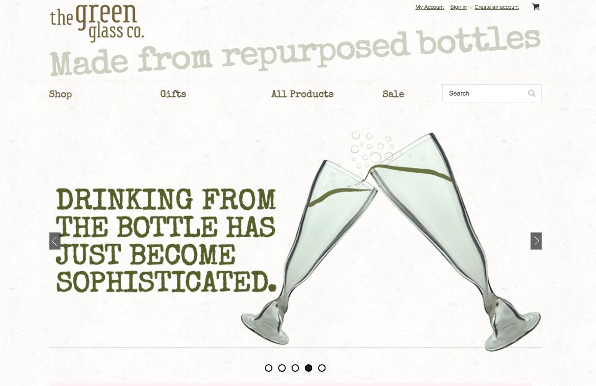 ecommerce website design example