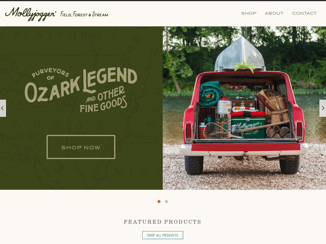 best ecommerce website designs