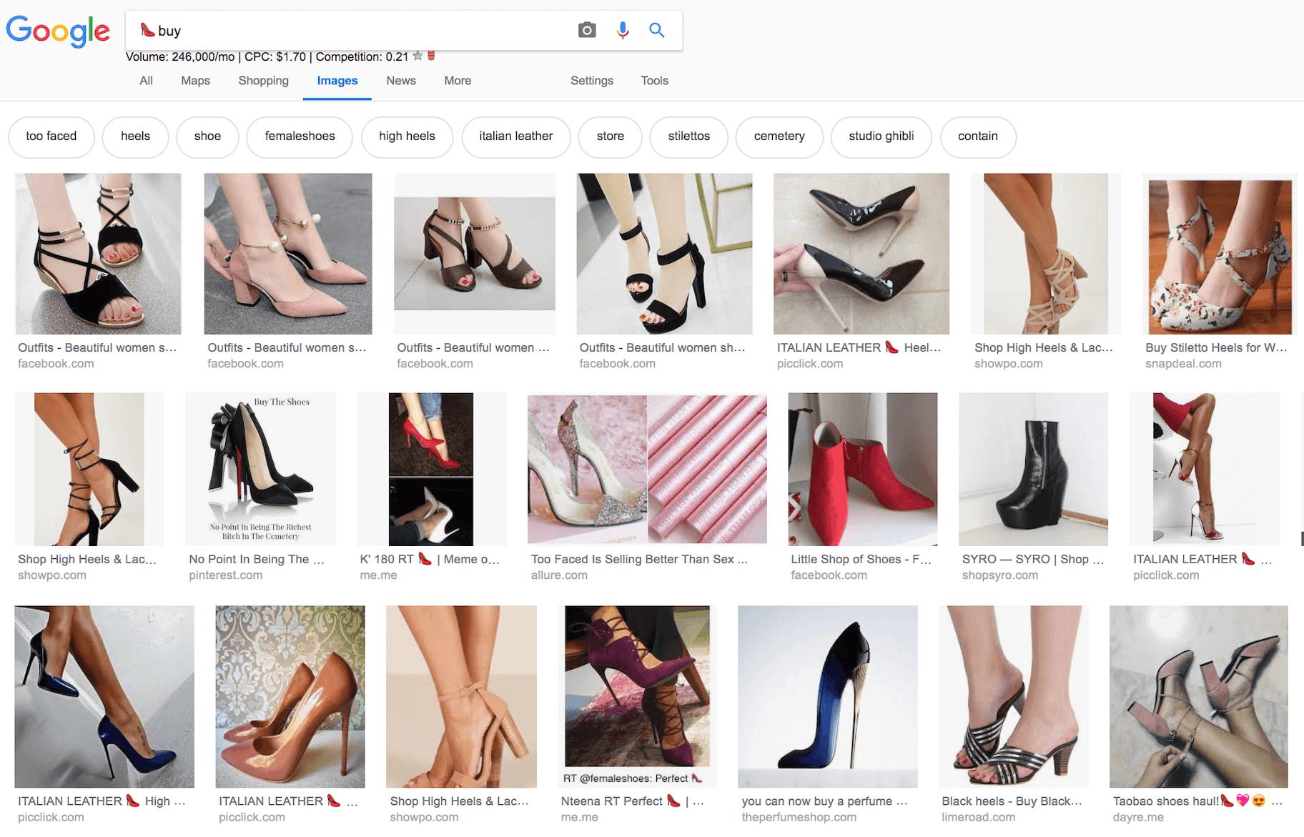 emoji seo google images