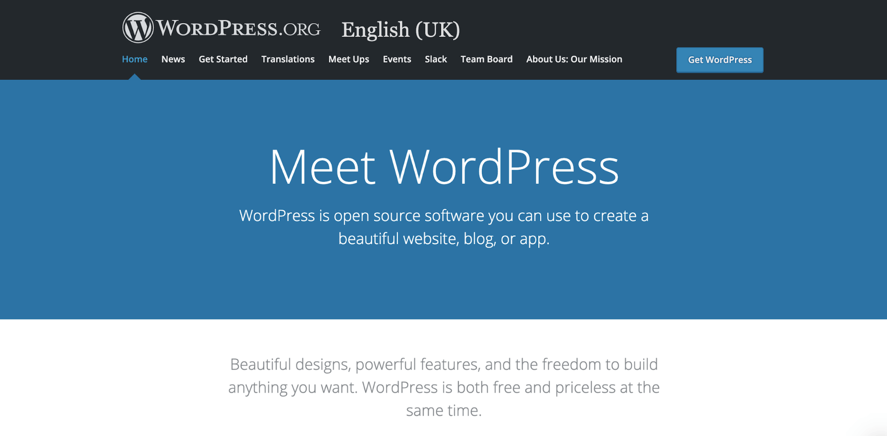 Create a Website WordPress