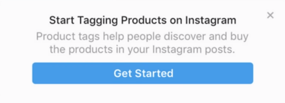 Confirmation Instagram Shop