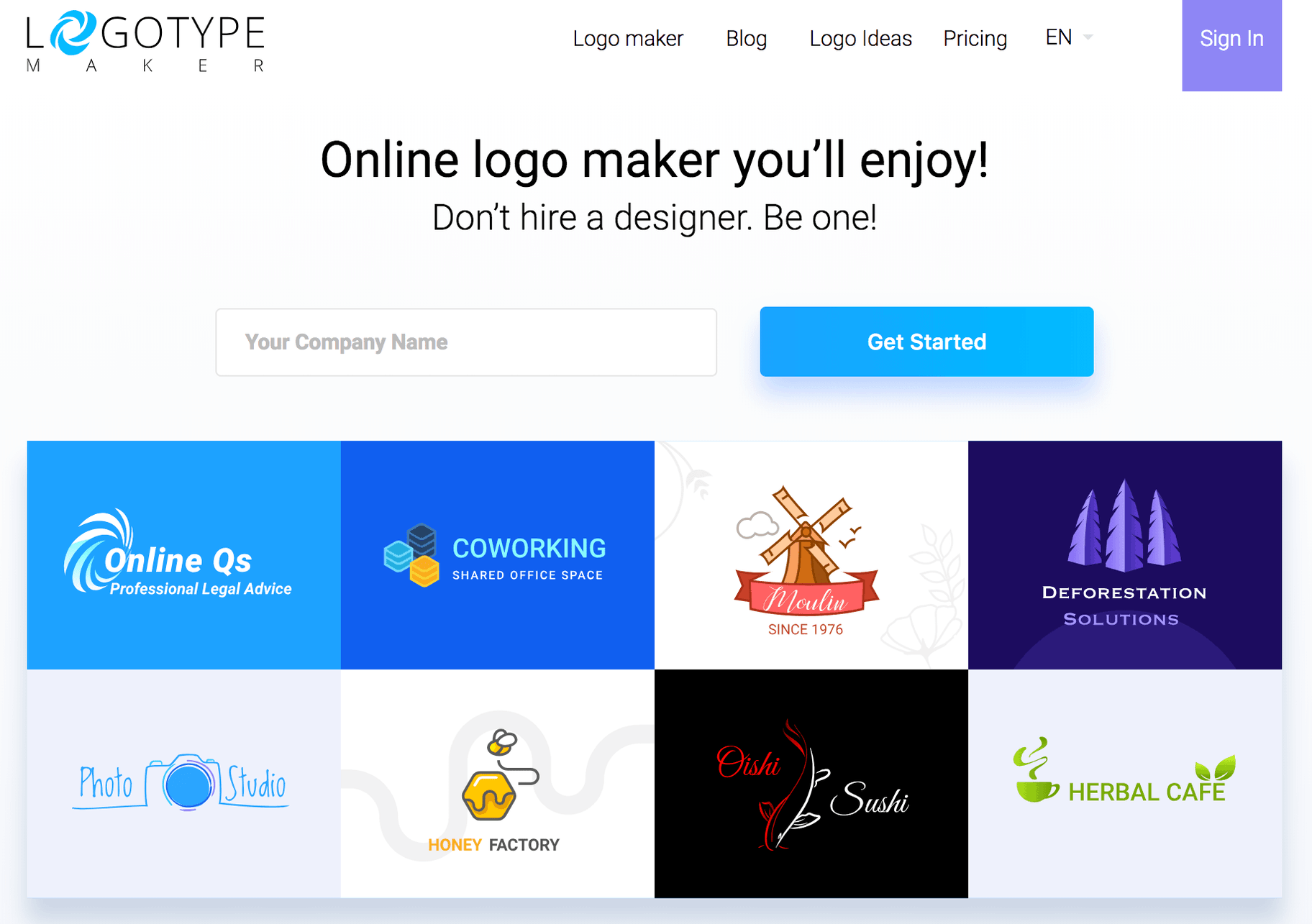 Logotype Maker: Logo Design Software