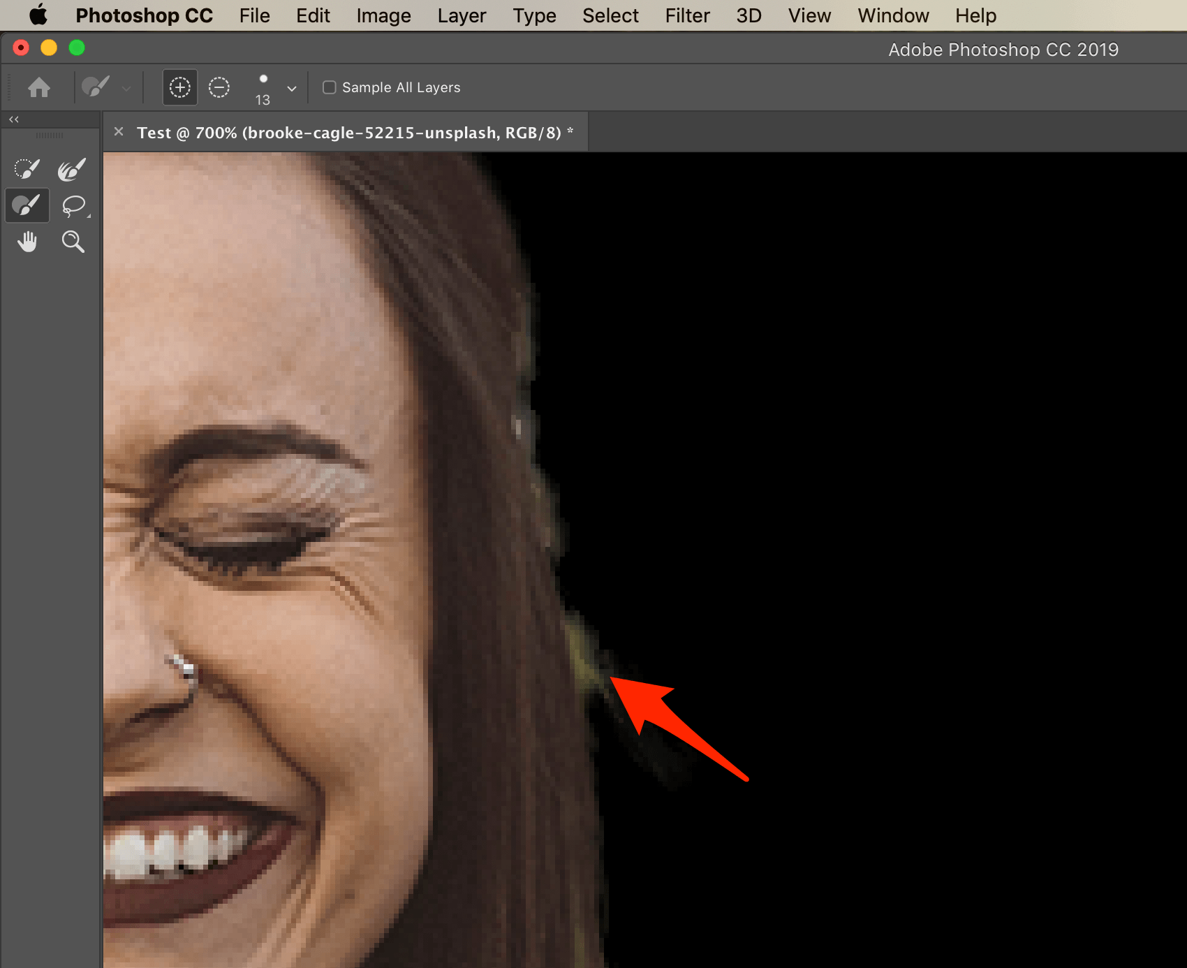 Refine Edges Photoshop