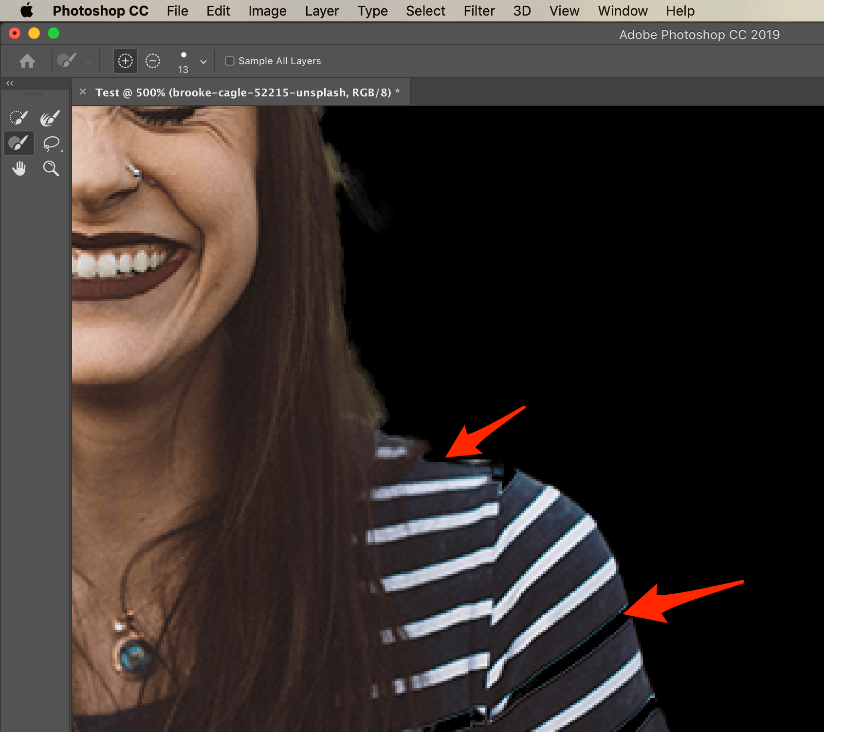 Select Image Photoshop