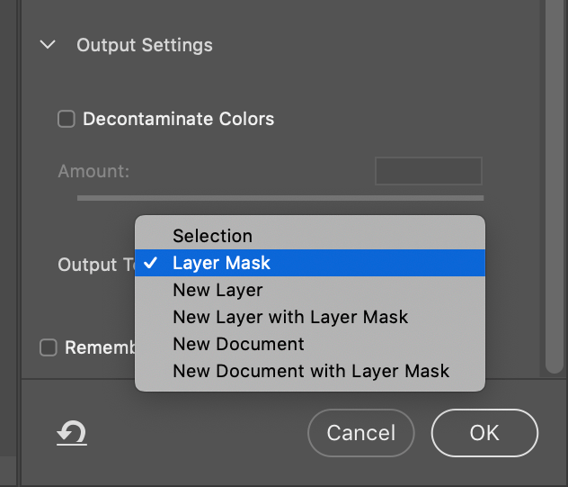 Photoshop Save as Layer Mask