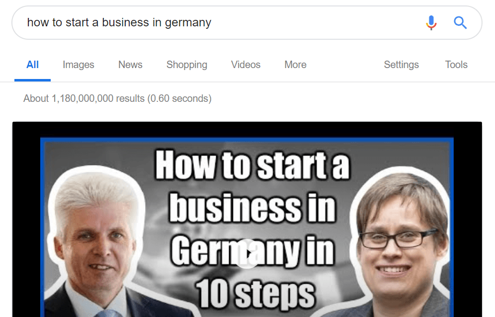 business in germany