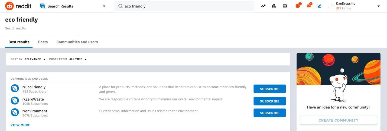 Reddit market research