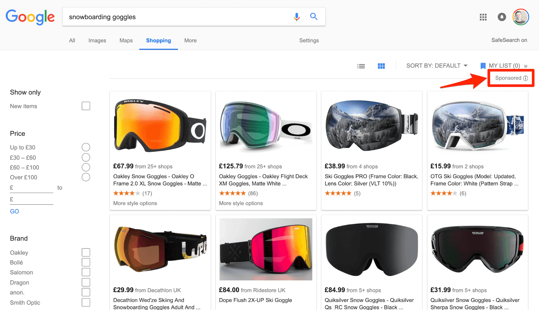 Google Shopping Native Advertising