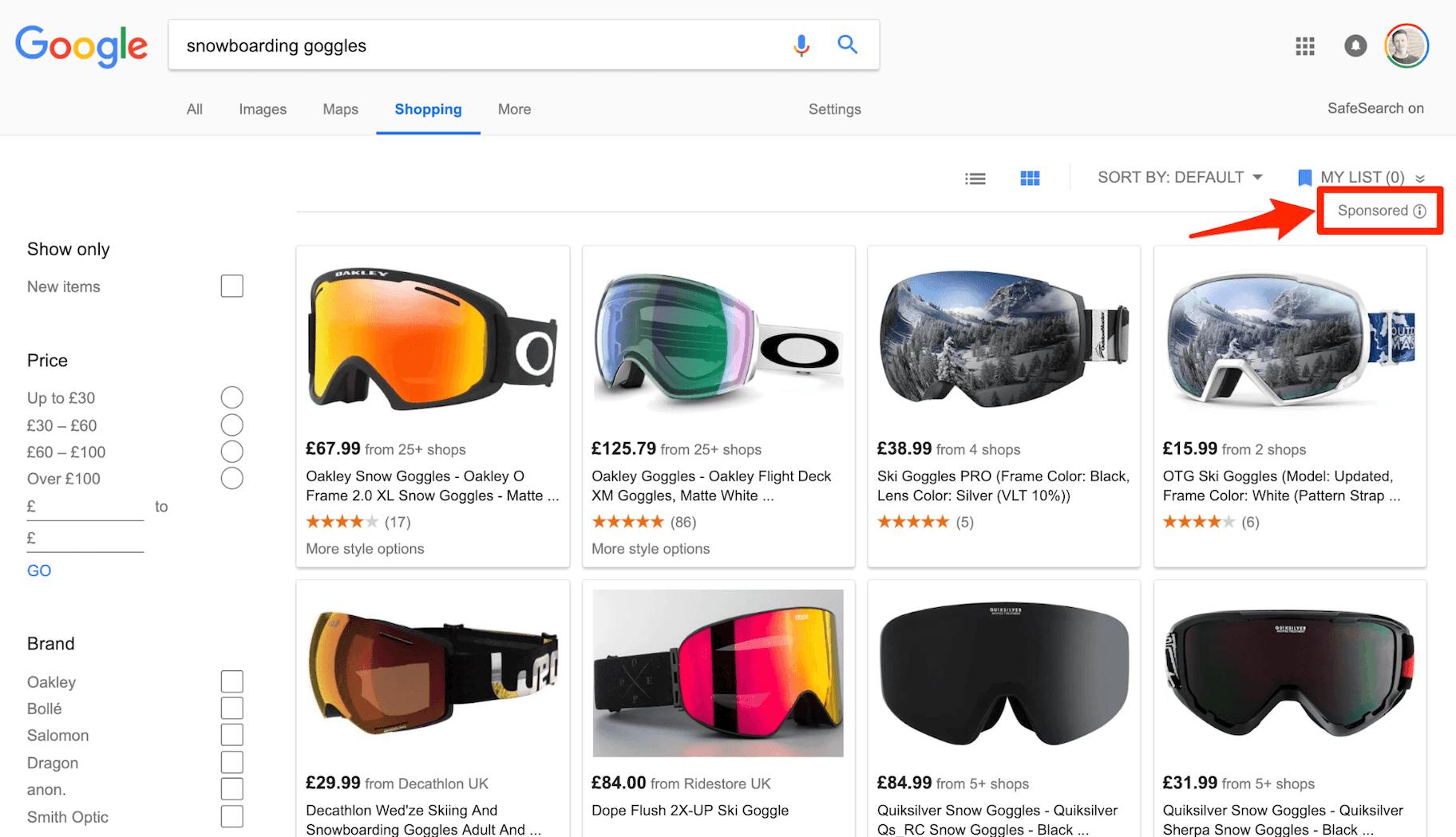 Google Shopping Native Advertising