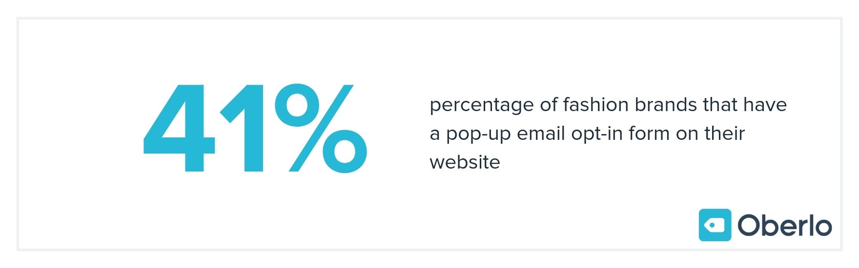 pop-up email form percentage