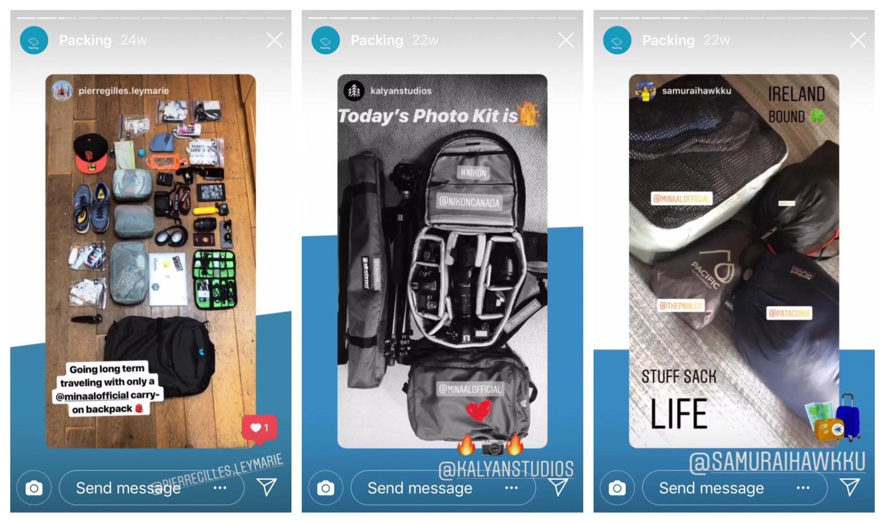 Minaal Instagram Templates