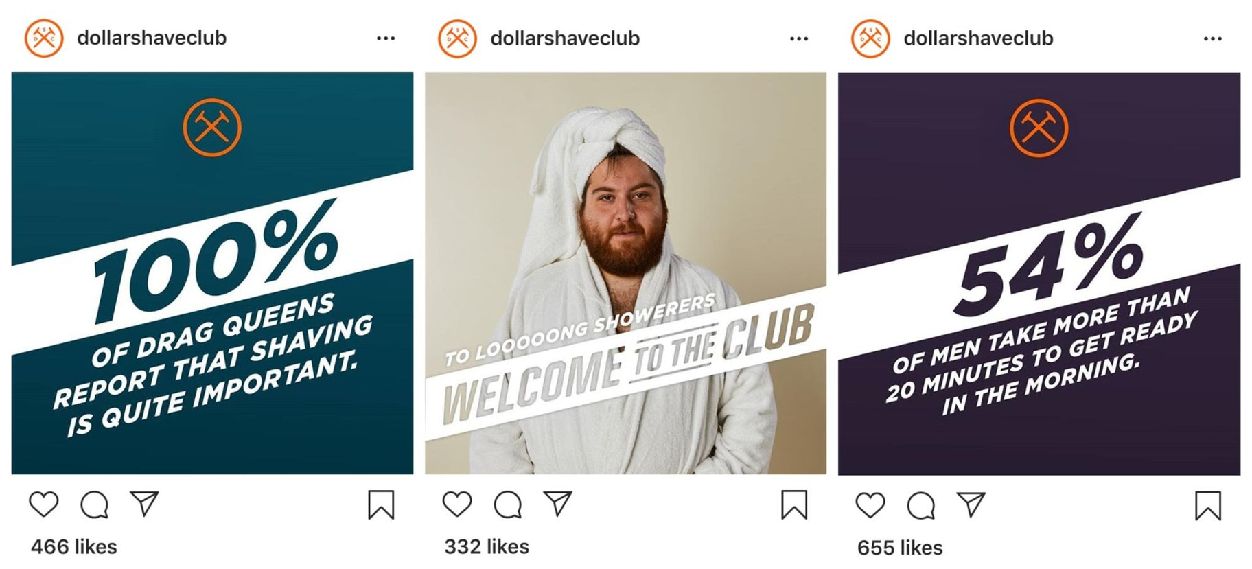 Dollar Shave Club Instagram Templates
