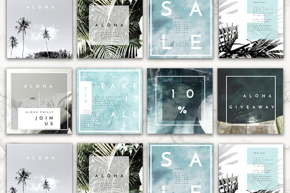 Travel Instagram Templates