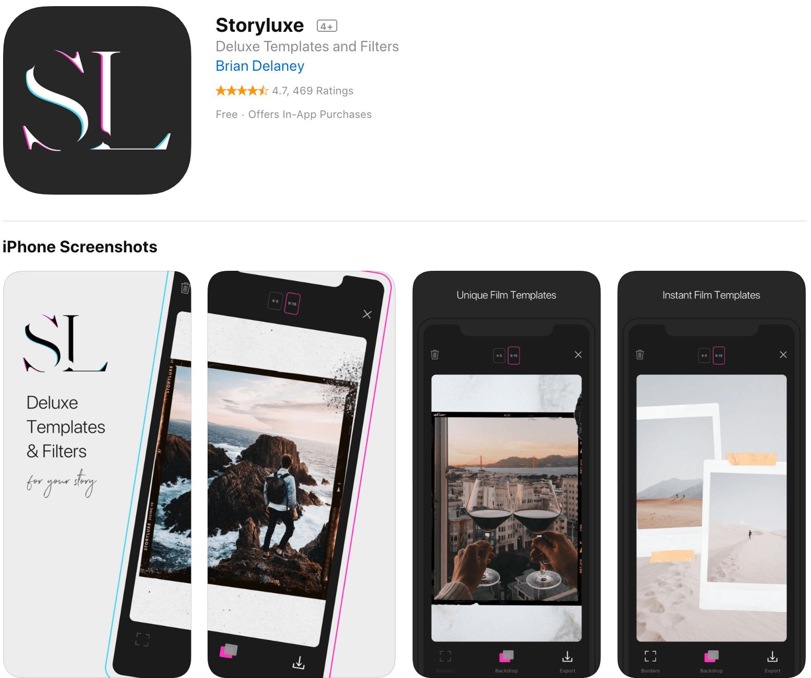 StoryLuxe