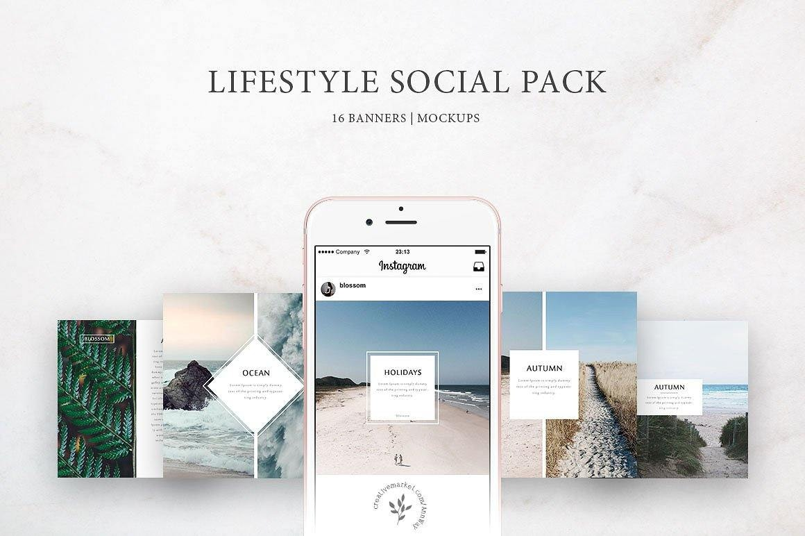 Lifestyle Instagram Templates