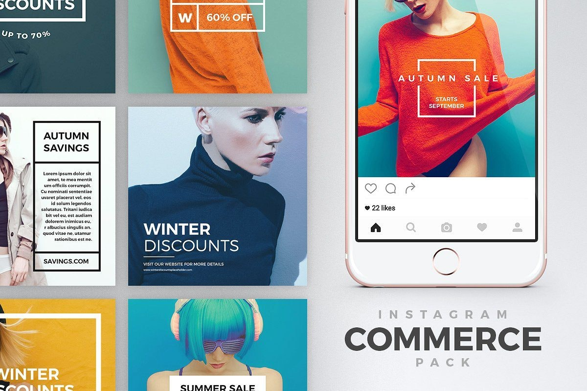 Commerce Instagram Templates