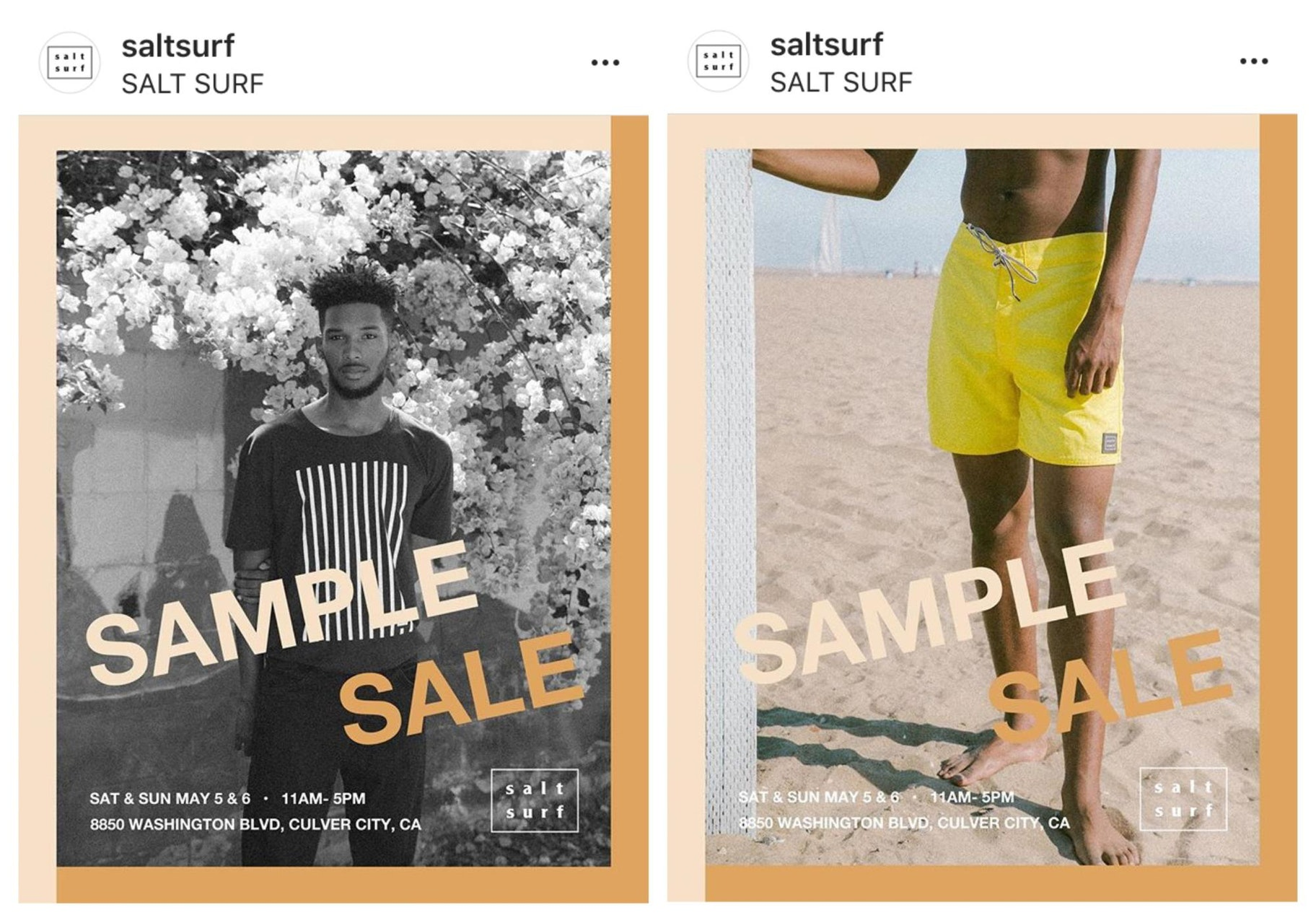 Salt Suf Instagram Templates