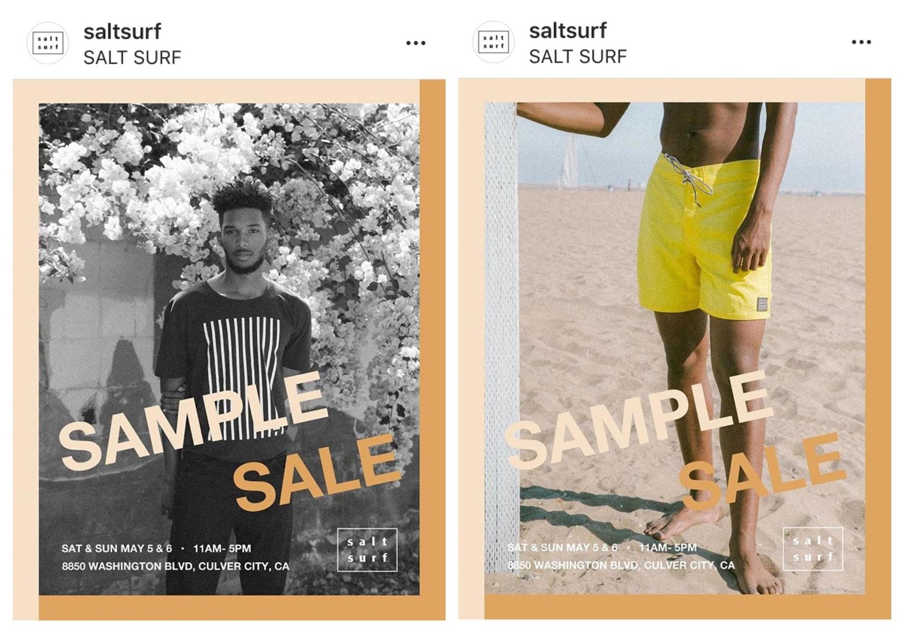 Salt Suf Instagram Templates