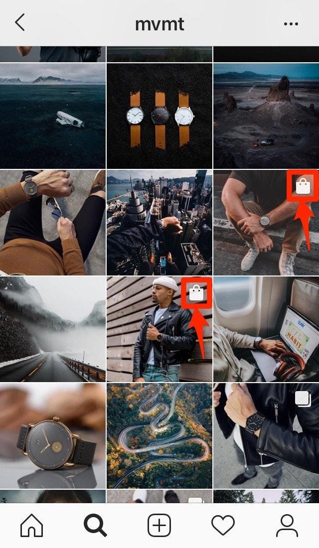 Instagram Shoppable Post Icon
