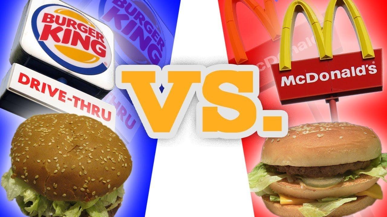McDonalds vs Burger King Advertising