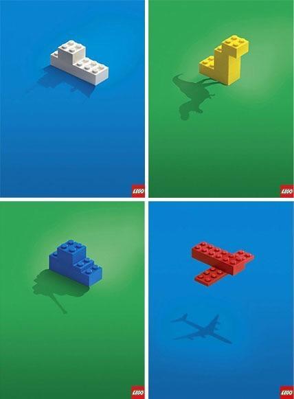 Advertising Example: Lego Ad