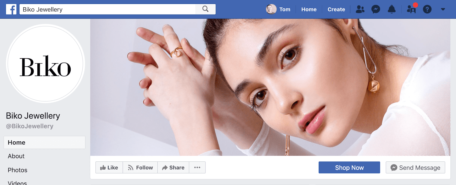 Biko Facebook Page