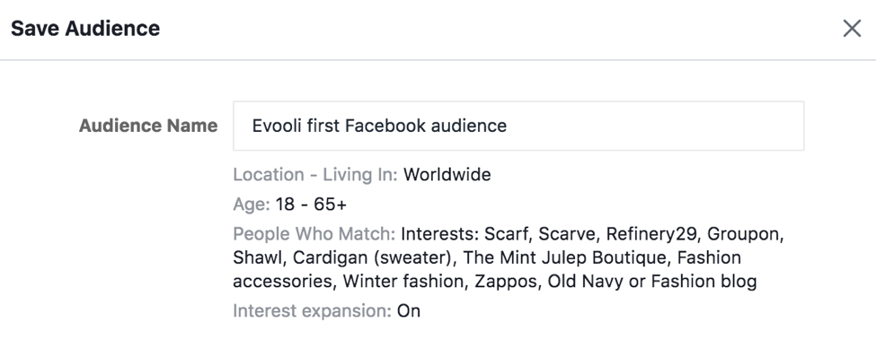 audience after facebook research