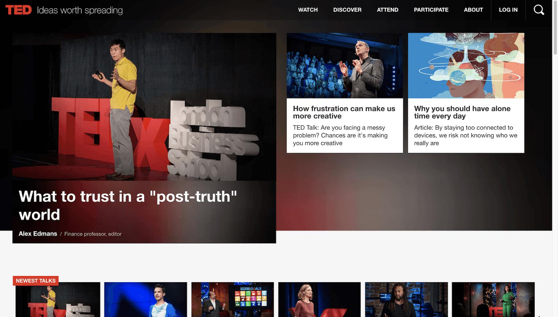 Ted Talks Vision Statement