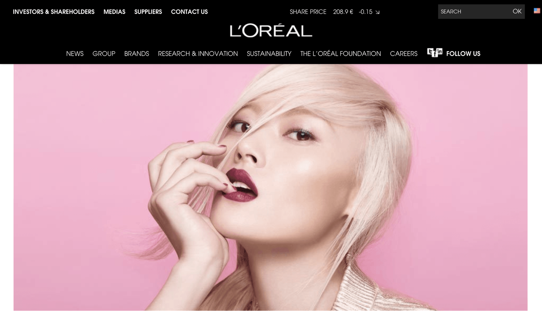 Loreal Vision Statement