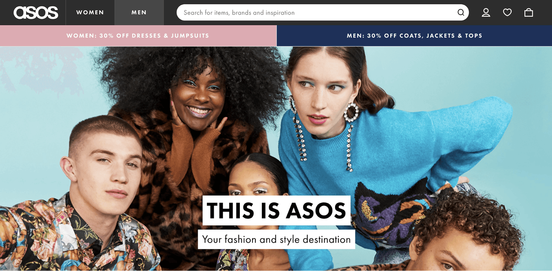 ASOS Vision statement