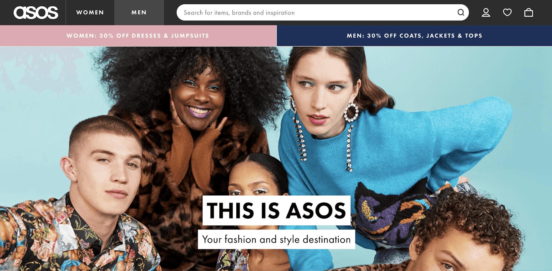 ASOS Vision statement