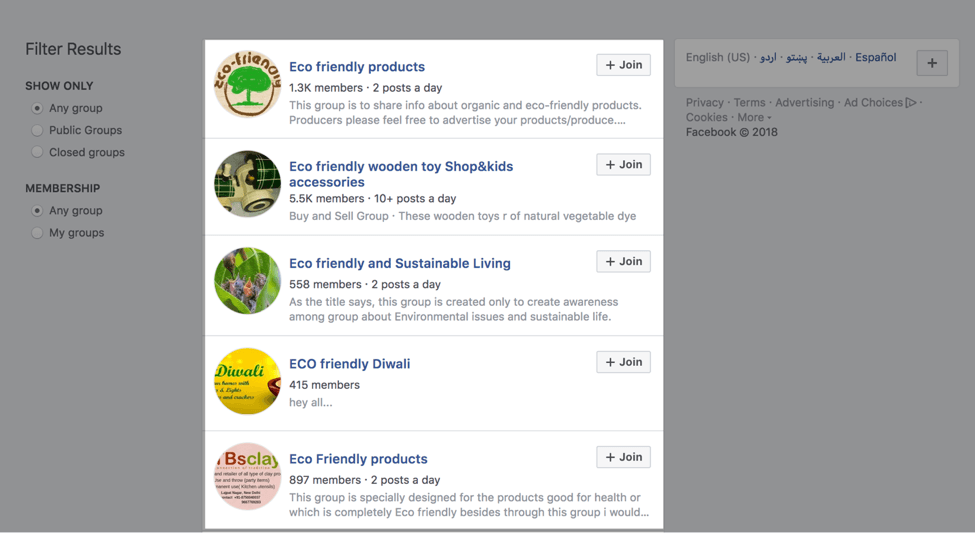 facebook groups speak customers language