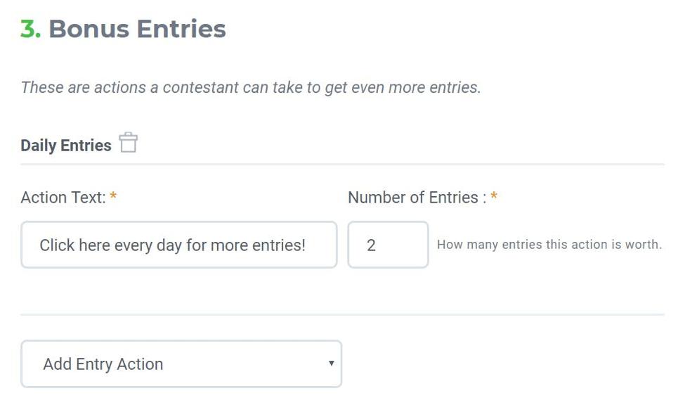 kingsumo bonus entries