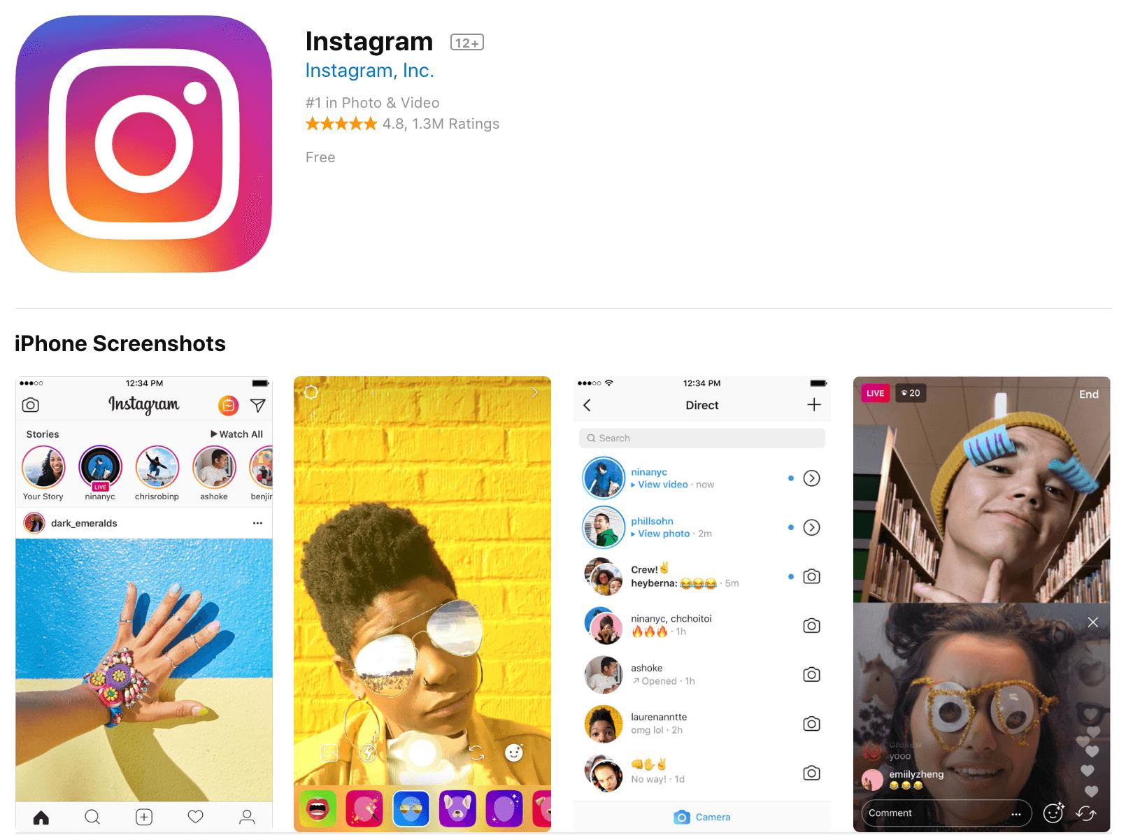 Instagram Photo Editing App