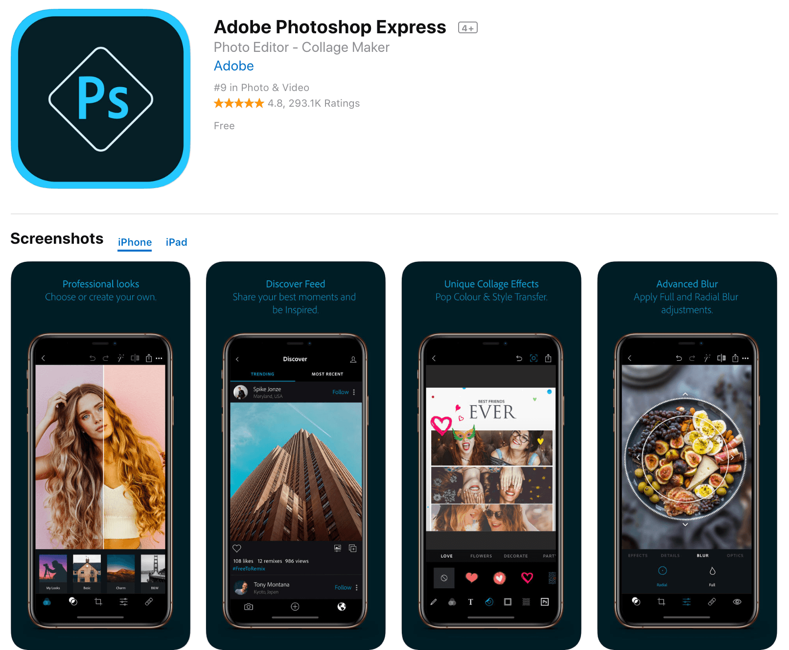 Adobe Photoshop App Free