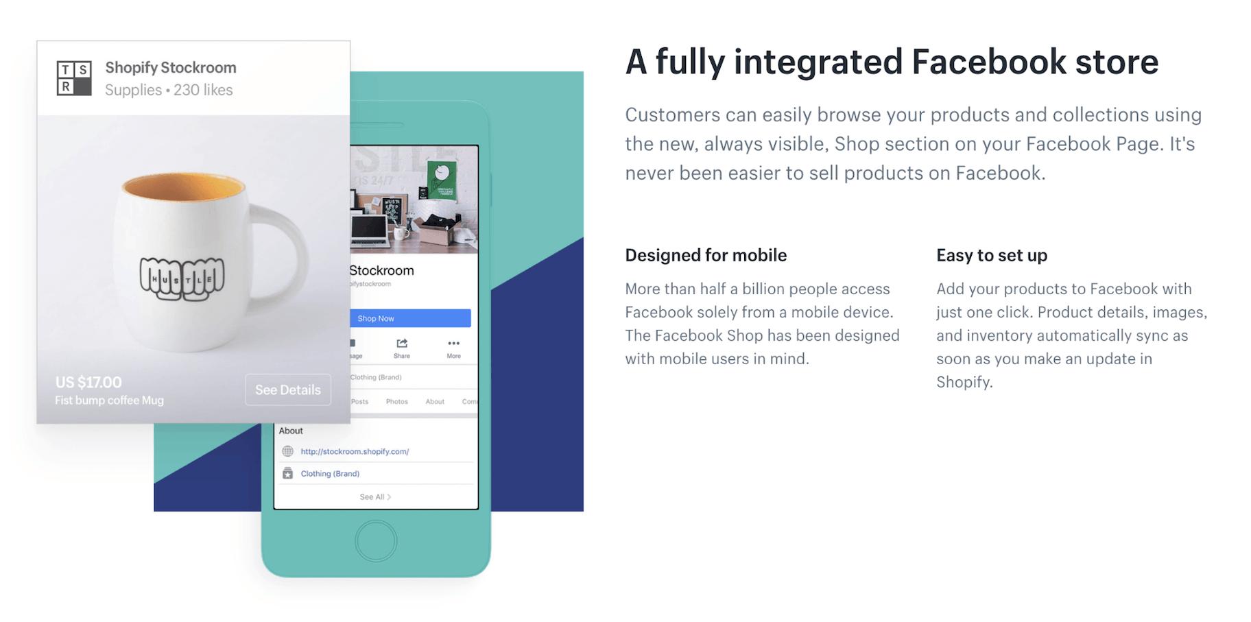 Shopify Facebook Shop Integration