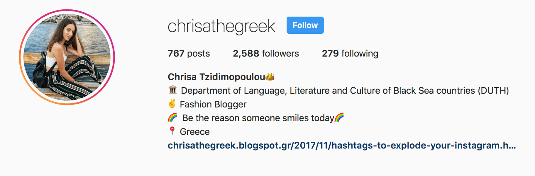 instagram bio for fashion