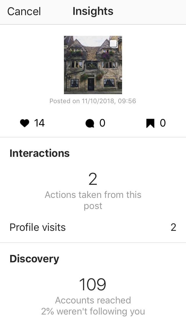 Instagram Insights Posts