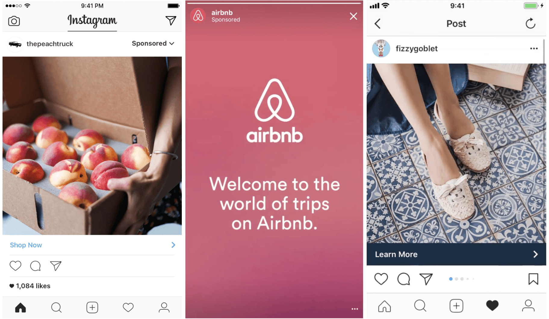 AirBNB Instagram Ads