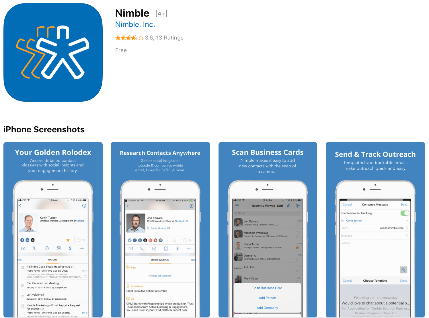 Marketing Apps Nimble