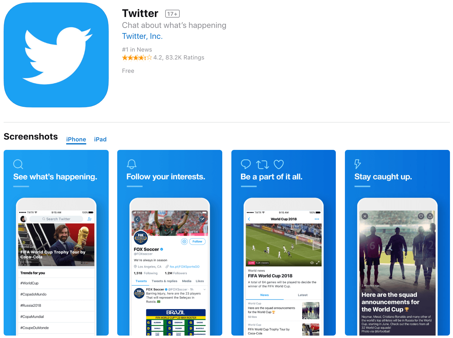 Marketing Apps Twitter