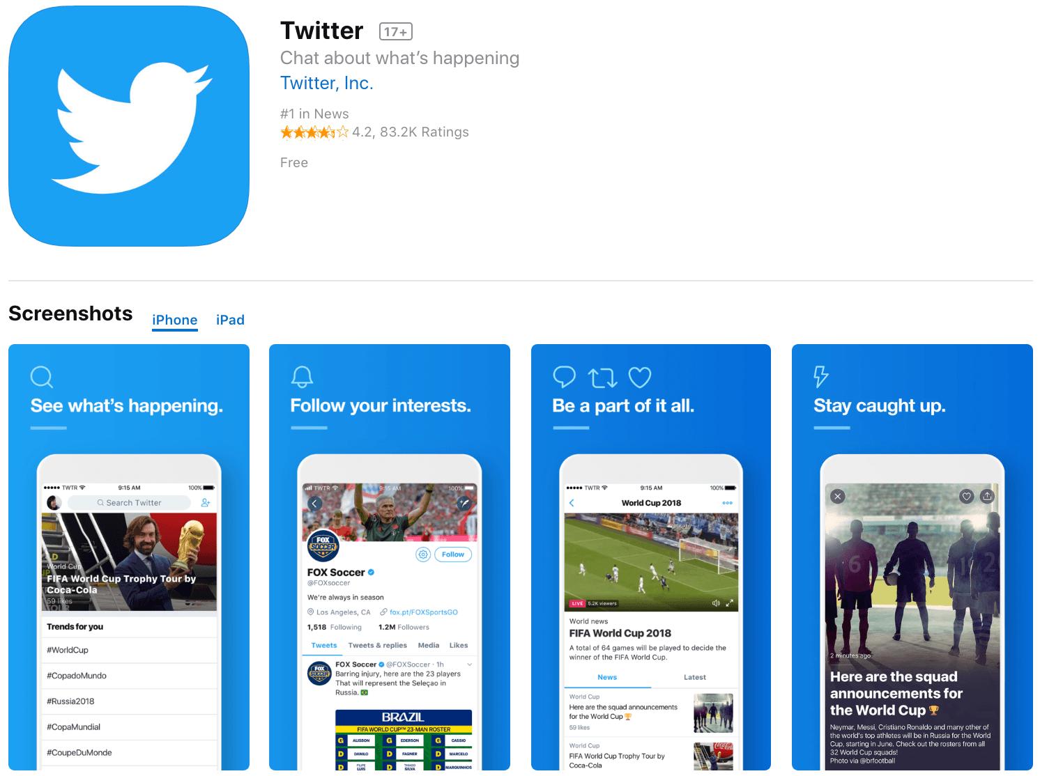 Marketing Apps Twitter
