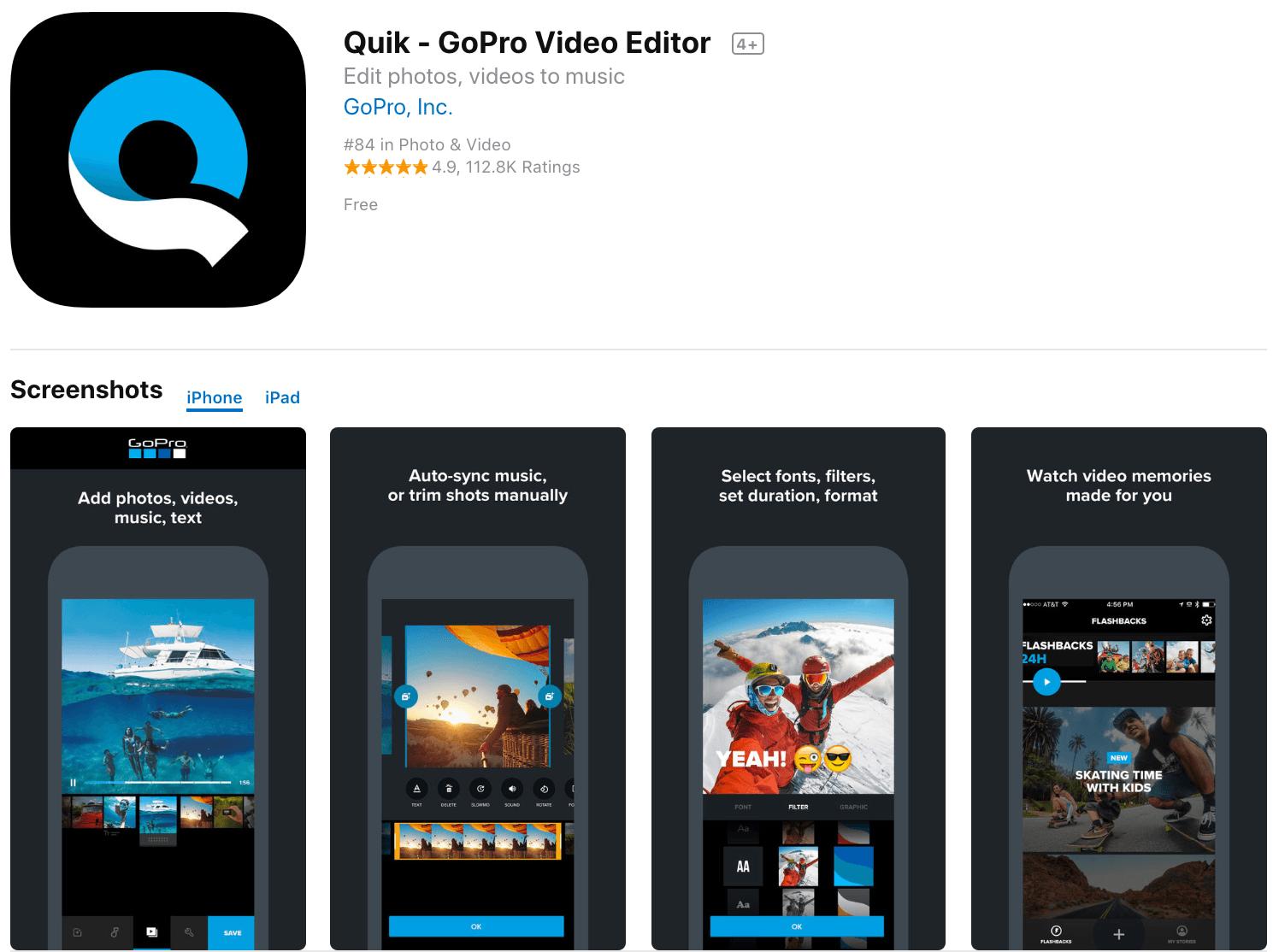 Marketing Apps Quik